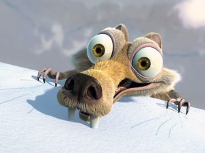 As Scrat from Ice Age proves, this is not a new problem.