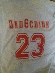 You, too, could own a WWOS DadScribe t-shirt. And you know you want one.