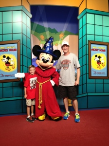 Jay and I met a big shot with big ears and a big hat last year at Disney World. As Floridians, it's great to have all this right here in our back yard.