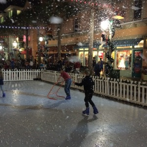 Snowfall in Central Florida? Ice skating? Winter? Yes, yes and yes.