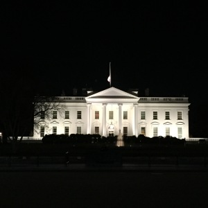 The White House was aglow the night before the fifth annual Dad 2.0 Summit in Washington, D.C.