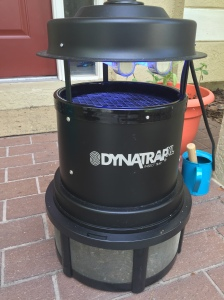 We put the DynaTrap XL on our front porch six weeks ago and haven't seen a single mosquito inside all summer.